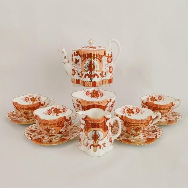 Wileman Imari tea service