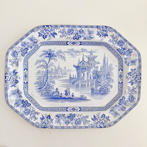"Meat platter ""Madras"", Wood & Brownfield 1841-1850"
