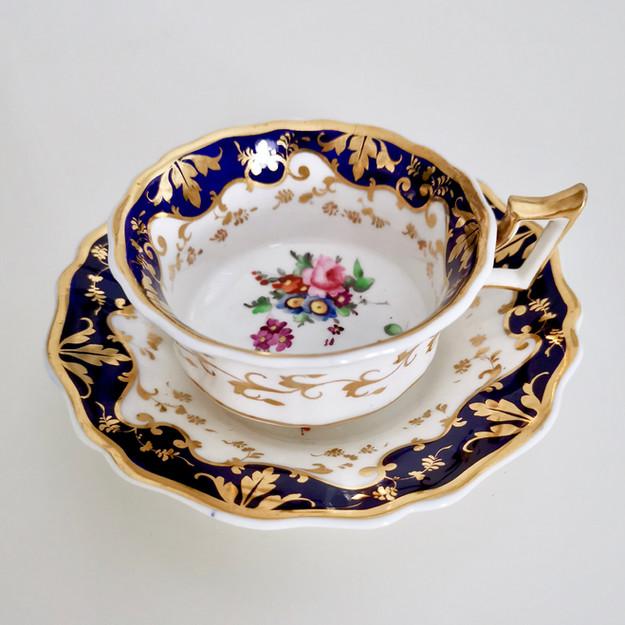 Ridgway teacup, patt 2/1063, ca 1825