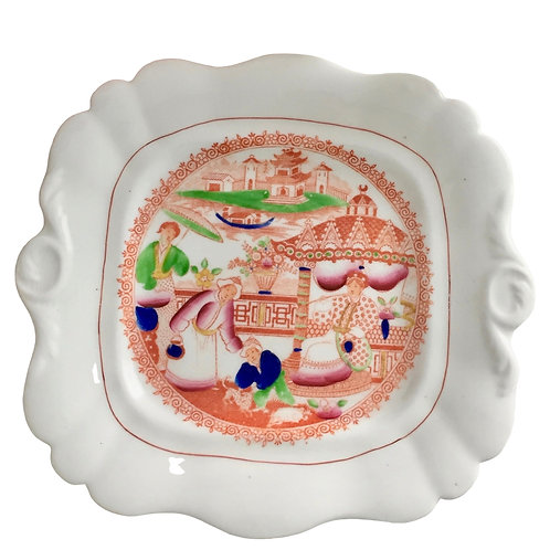 Hilditch plate, Boy with the Spotted Dog pattern ca 1815