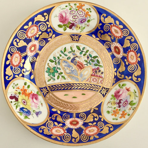 Rare plate with Japan pattern, Swansea ca 1815