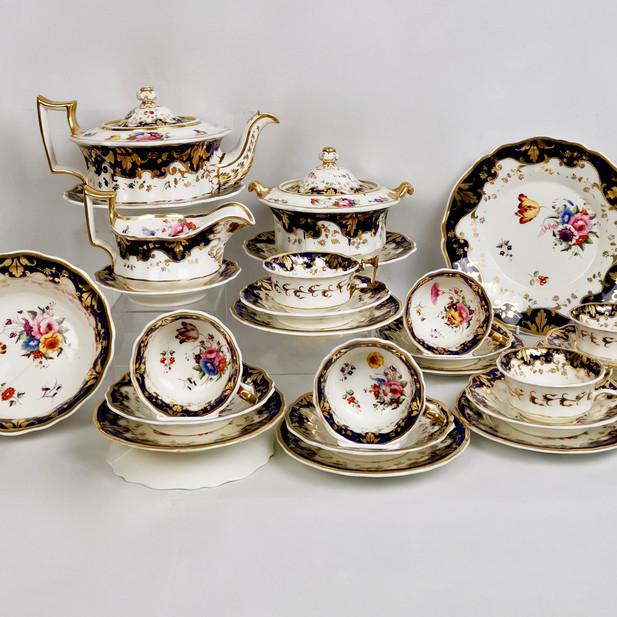 Ridgway tea service, ca 1825