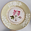 Thumbnail: Chamberlains Worcester Union dessert service, sage green with flowers, 1816-1820