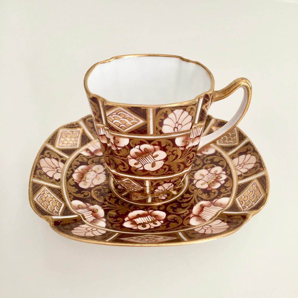 Copeland demitasse coffeecup, ca 1880