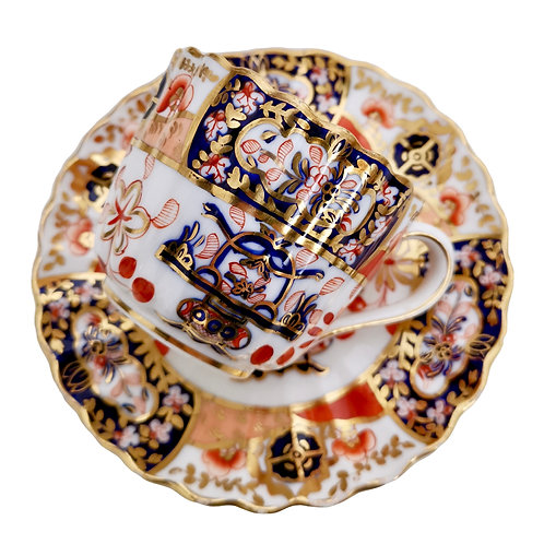 Copeland Spode cup and saucer, Imari pattern, 1875-1890