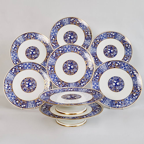 Wedgwood dessert service, Aesthetic Movement, 1878-1891