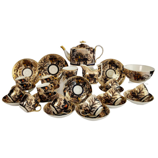 Thomas Rose tea service Dragon
