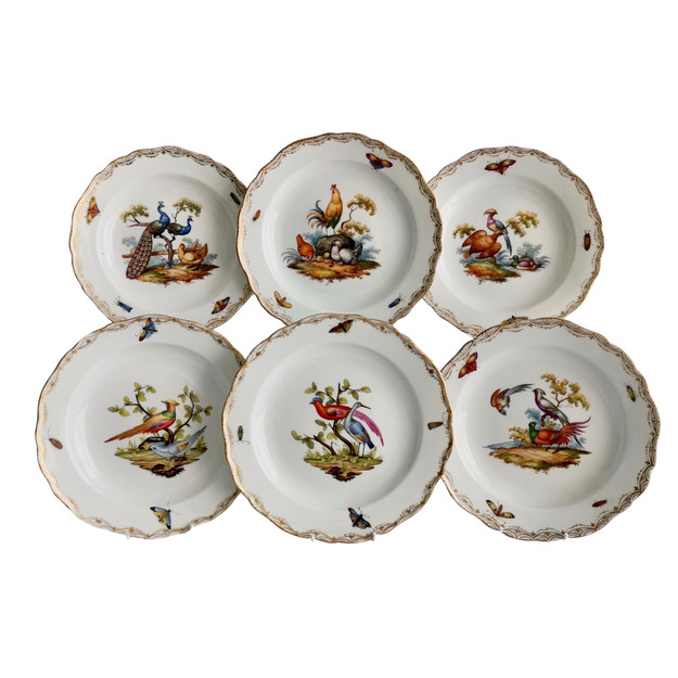 Meissen set of 6 plates