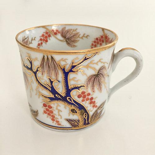 Coffee can, Imari Vine, New Hall ca 1810