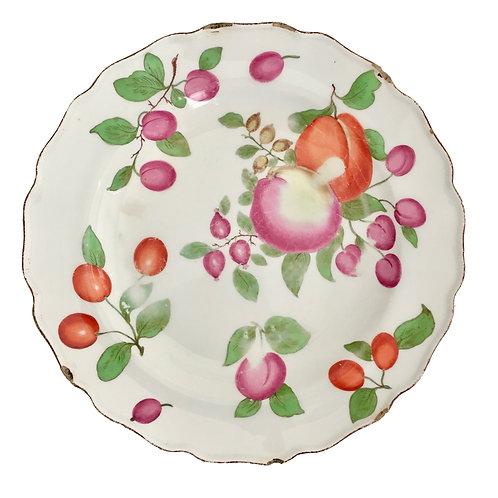 """Chelsea dessert plate, """"Duke of Cambridge ca 1760"""
