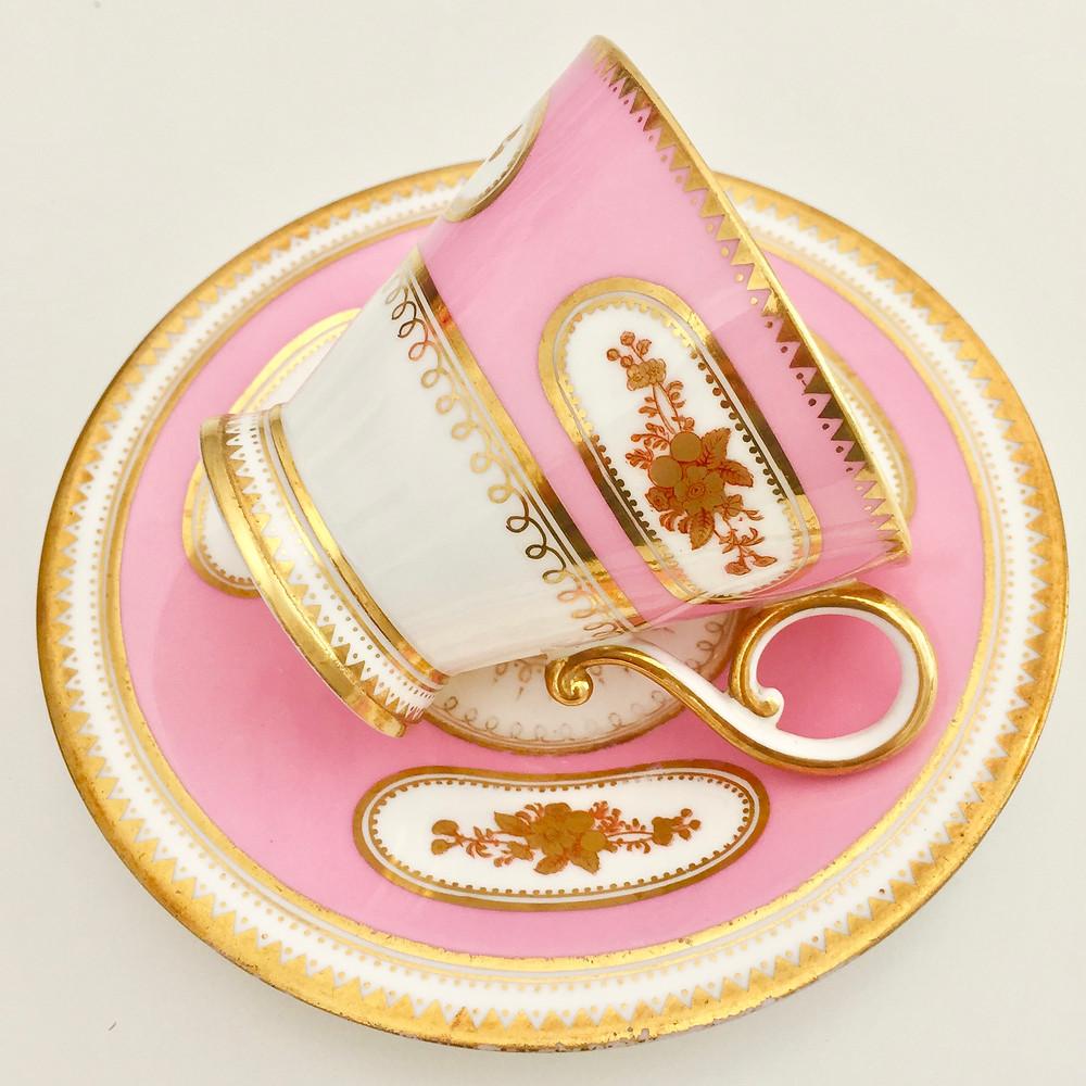 little antique teacup Brown-Westhead & Moore