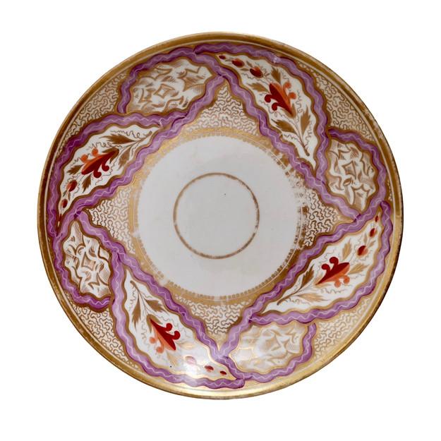 Miles Mason plate pink