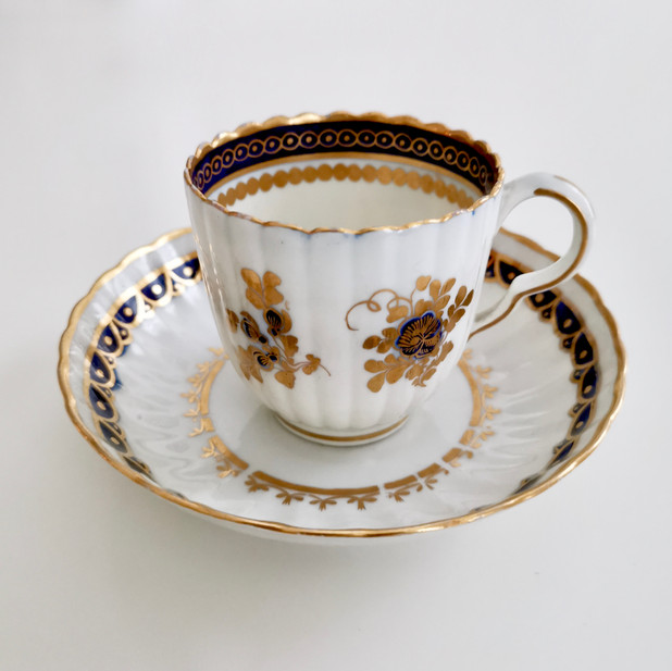 Caughley coffee cup ca 1785