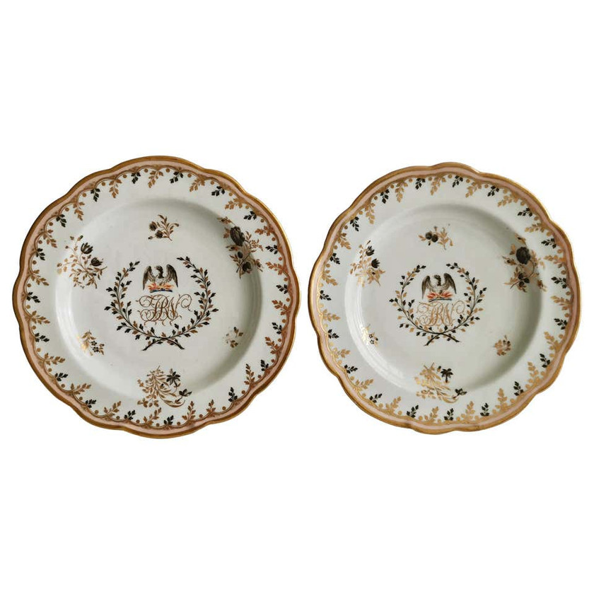 Chamberlain Worcester plates