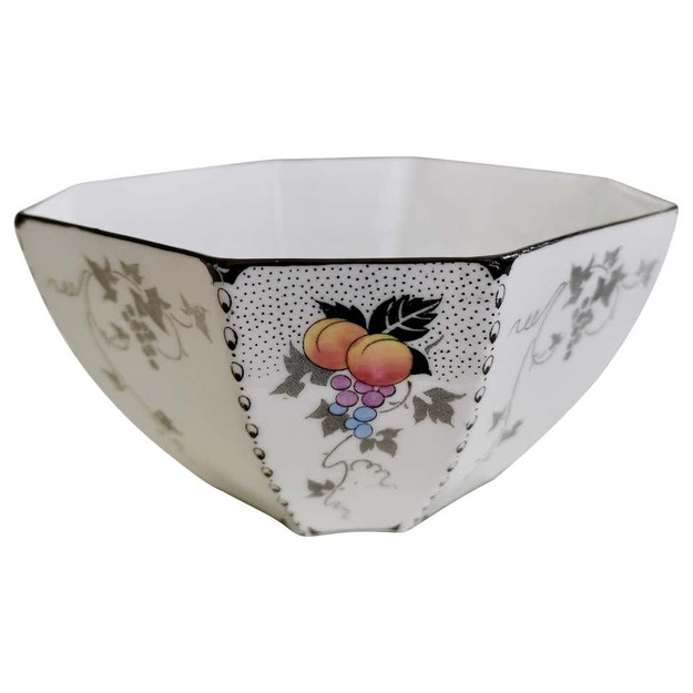 Shelley Peaches & Grapes bowl