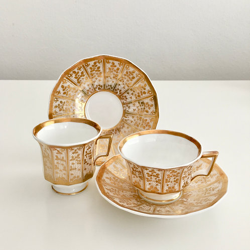 Tea and coffee cup, Copeland & Garrett 1833-1847
