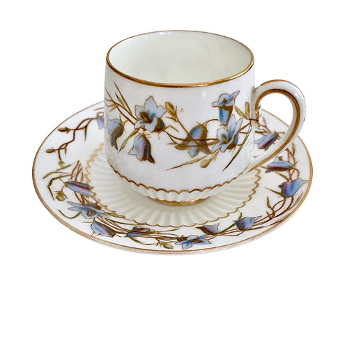 Demitasse cup and saucer, Aesthetic Movement George Jones 1893-1924