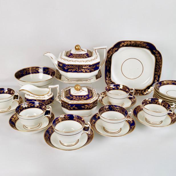 Spode tea service, Octagon 1815-1820