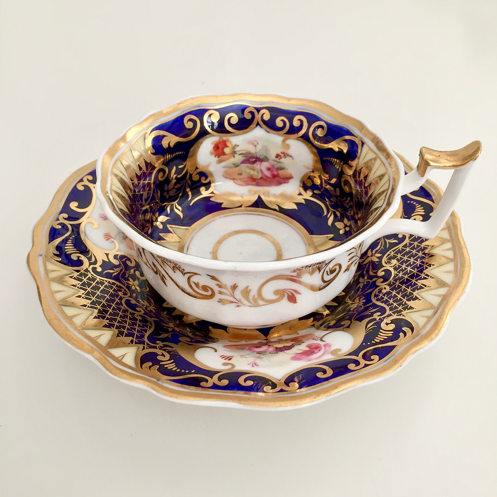Yates teacup, ca 1825