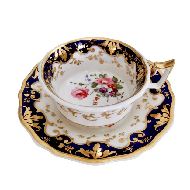 Ridgway teacup with rose