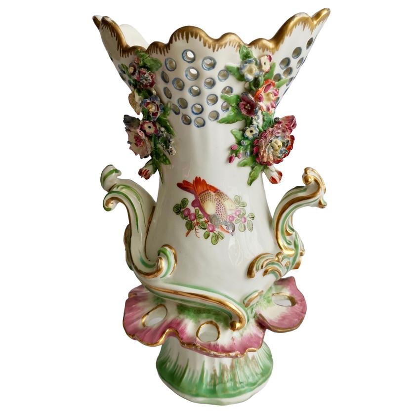 Edme Samson Chelsea-style vase