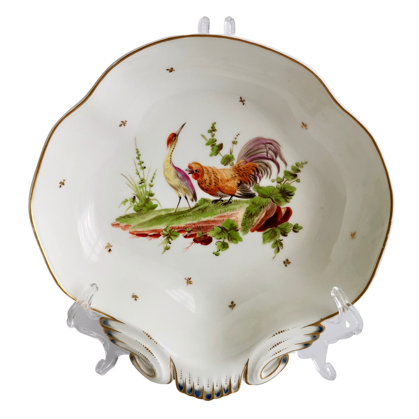 French dish with birds, 1820s
