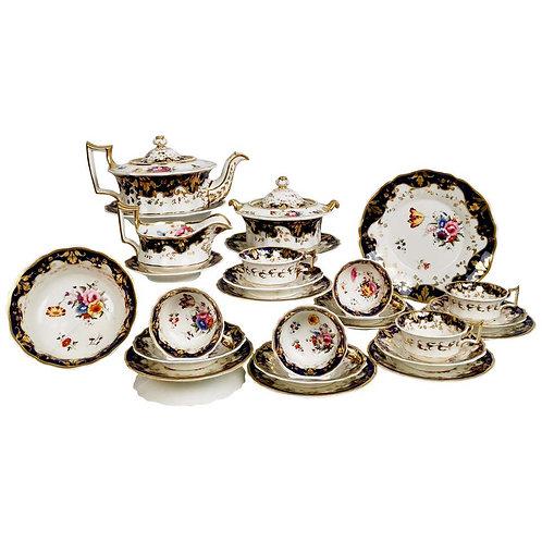 Stunning Ridgway tea service, pattern 2/1063, 1820-1825