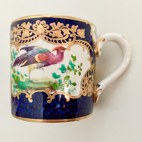 Booths orphaned coffee can, Worcester imitation, ca 1895