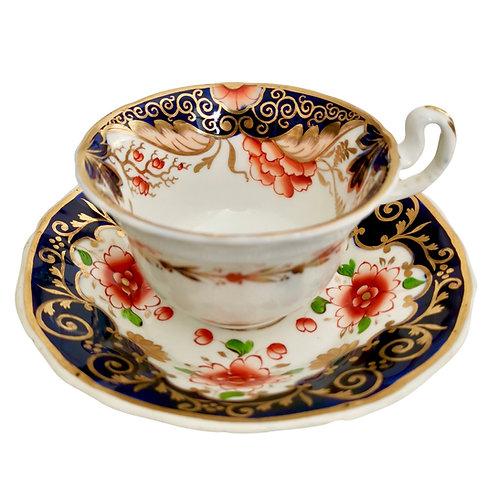 Mix and match teacup, Imari ca 1820