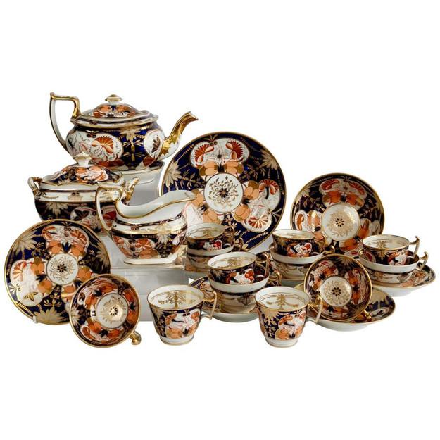 John Rose Imari tea service