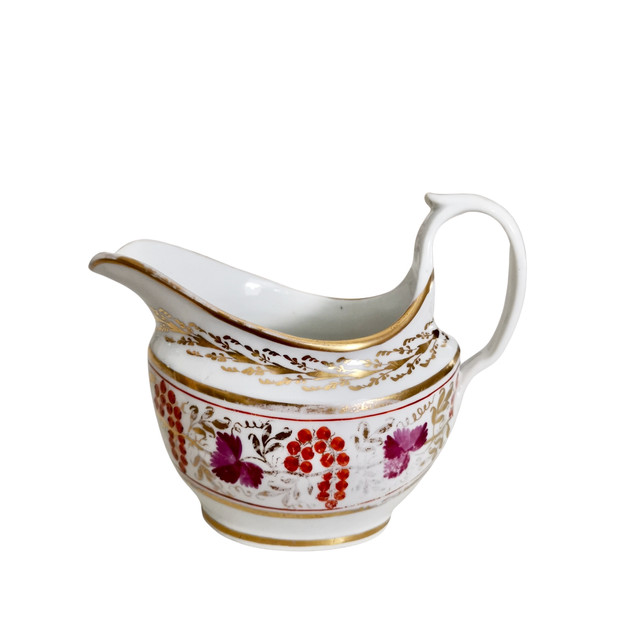 Staffordshire milk jug