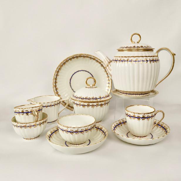 Early Derby tea set Tete a Tete