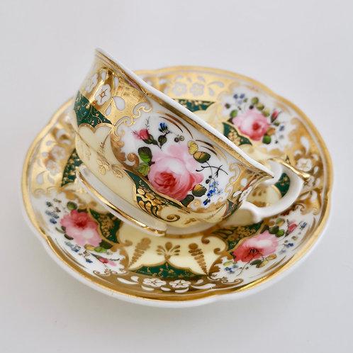 Yates teacup, Persian Revival patt.1559, ca 1830