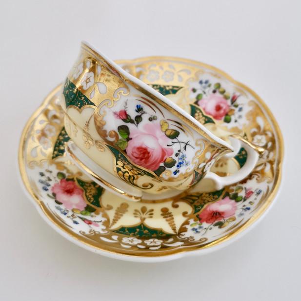 Yates Persian teacup, ca 1835