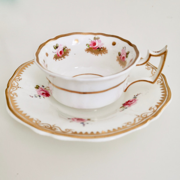 Mix and match teacup with rose sprays