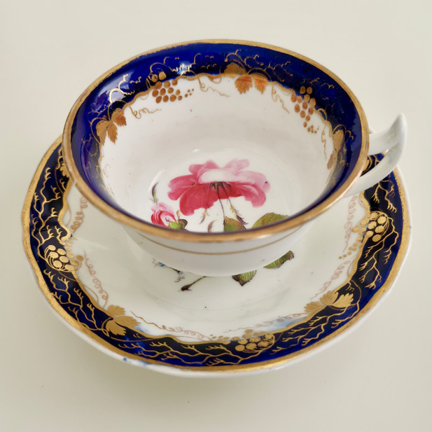 Stafforshire teacup with sublime rose