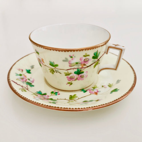 Brownfield teacup, Aesthetic Movement Japonism 1880s