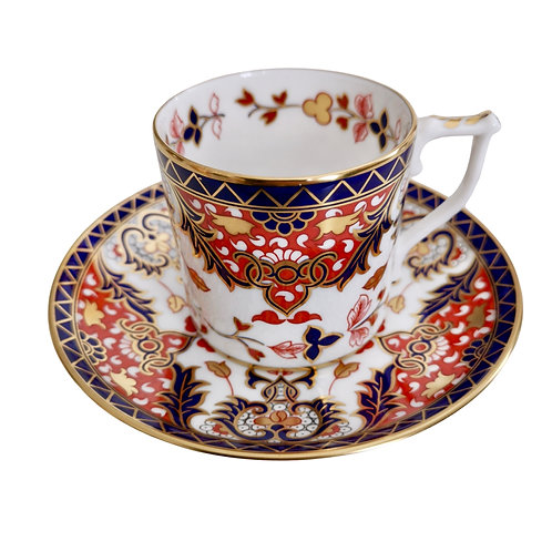 """Coffee can, Royal Crown Derby Curator's Collection """"Derby Old Japan"""", 1990"""