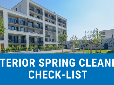 Tackle Your Facility's Spring Cleaning To-Do List