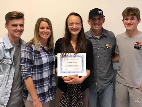The Kaci Edelbrock Scholarship