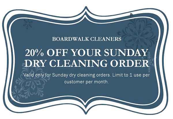 Boardwalk Cleaners coupon
