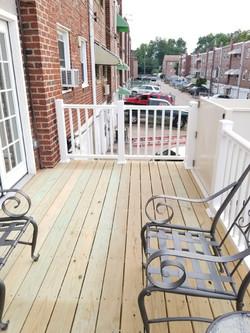 6038 Tulip Street - back patio 1