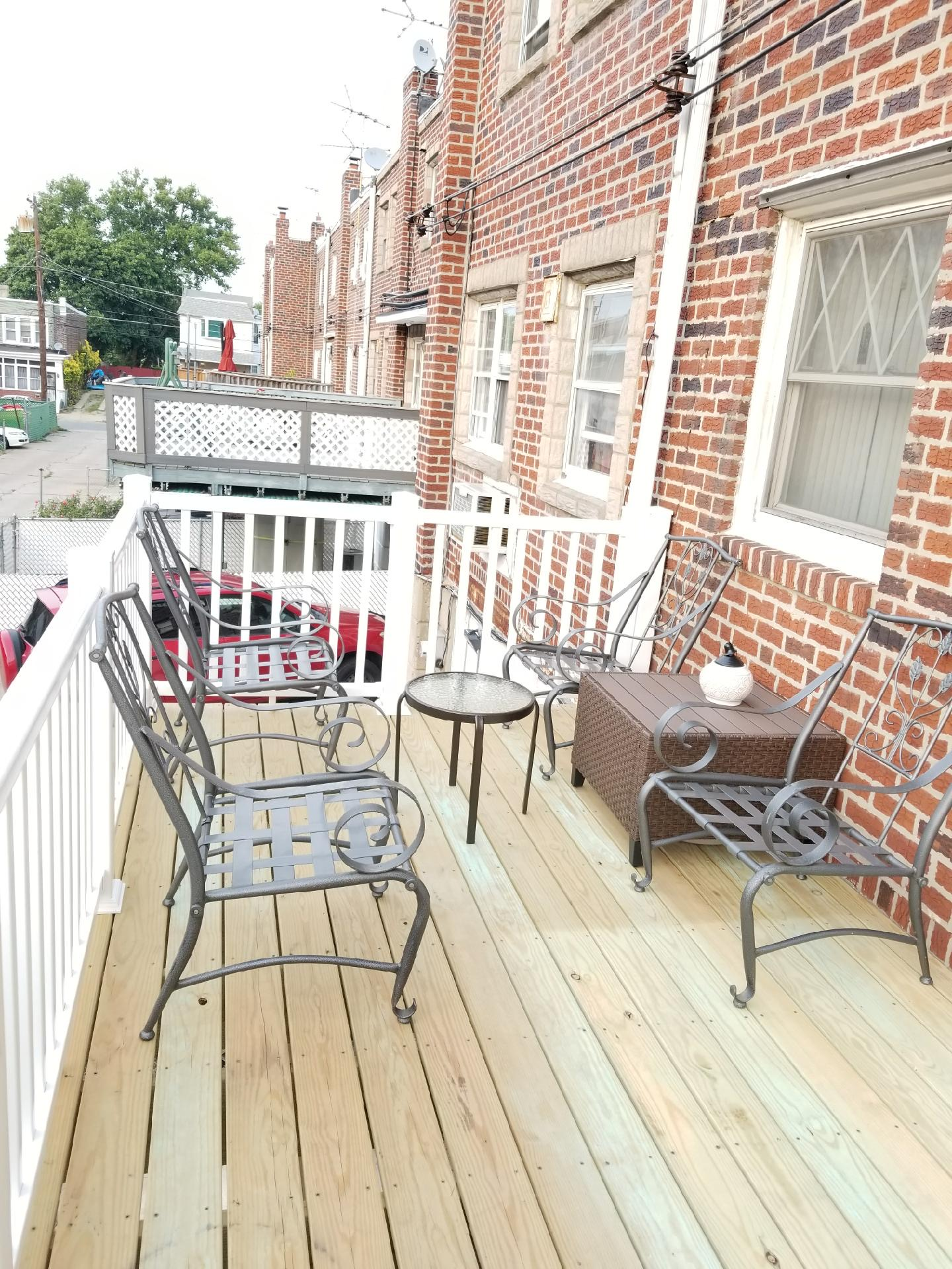 6038 Tulip Street - back patio 2