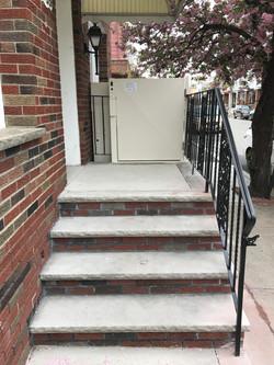 1953 Durfor Street - outdoor steps