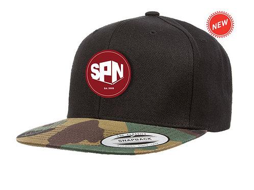 Camoflauge Brim Hat