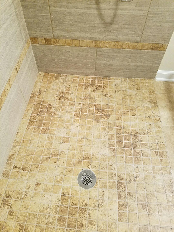 63 Shelter lane - shower floor