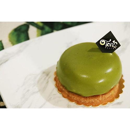 抹茶柚子朱古力慕斯蛋糕