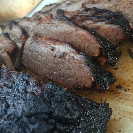 MGK's Low & Slow Beef Brisket over Coals & Smoke