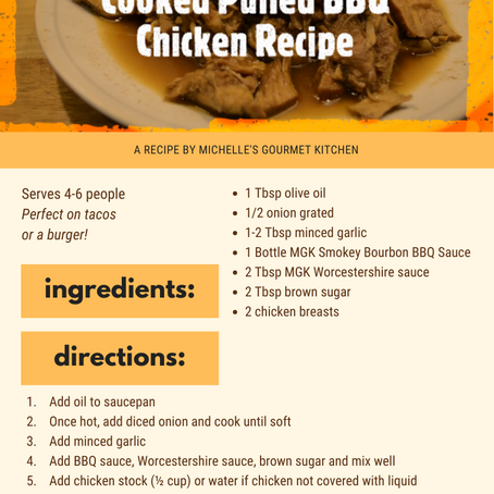 Slow-Cooked Pulled BBQ Chicken Recipe