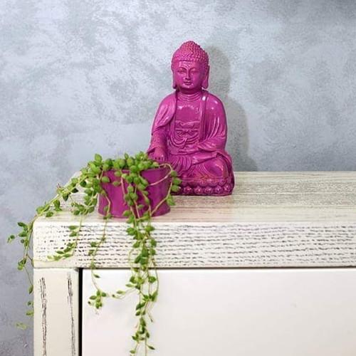 My buddha . My design. 💜💜💜 #decoratio